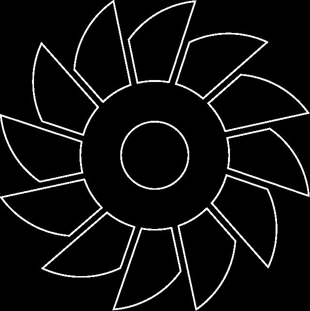 Grafik: Baggerrad-Symbol